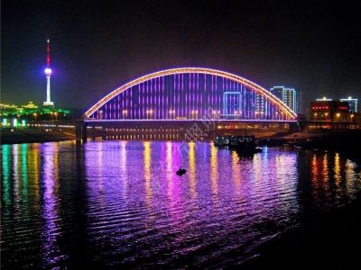 武汉.晴川桥
