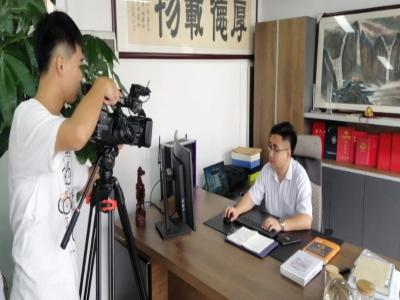 太古接受龙岗电视台众创TV频道采访